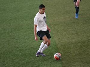 Tariq A. action photo