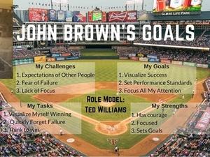 John Brown action photo