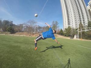 Rami K. action photo