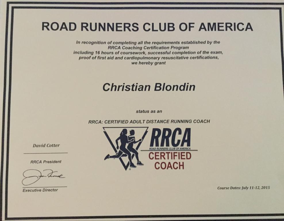 Running Coach in Ipswich, MA | Christian Blondin | CoachUp