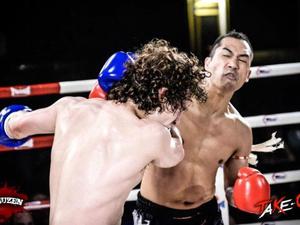 Michael d. action photo