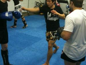 Tateki Matsuda action photo