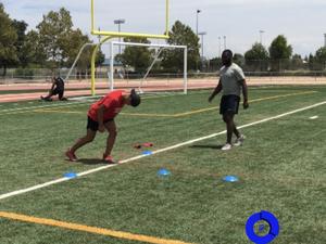 Ike Okoroike action photo