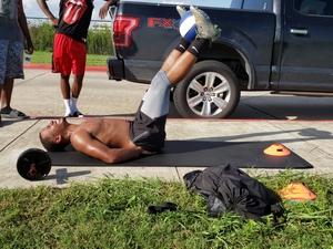 Rodney C. action photo