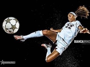 Bianca Brinson action photo