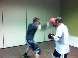 Scott Dixon action photo