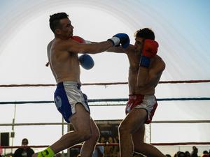 Lance D. action photo