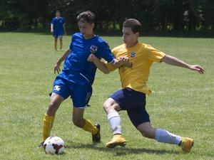 Demetrios A. action photo