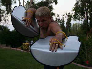 Steve Friederang action photo