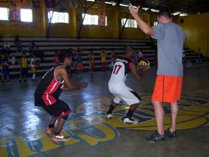 Bradley H. action photo