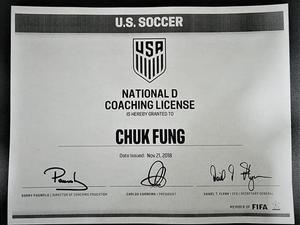 """Chuk """"Danny"""" Fung action photo"""