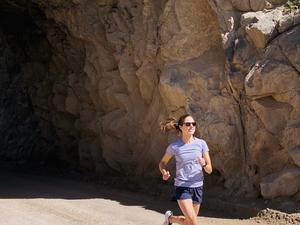 Hannah R. action photo