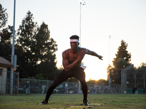 Elijah B. action photo