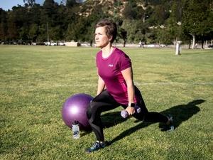 Kirsten Larsen action photo