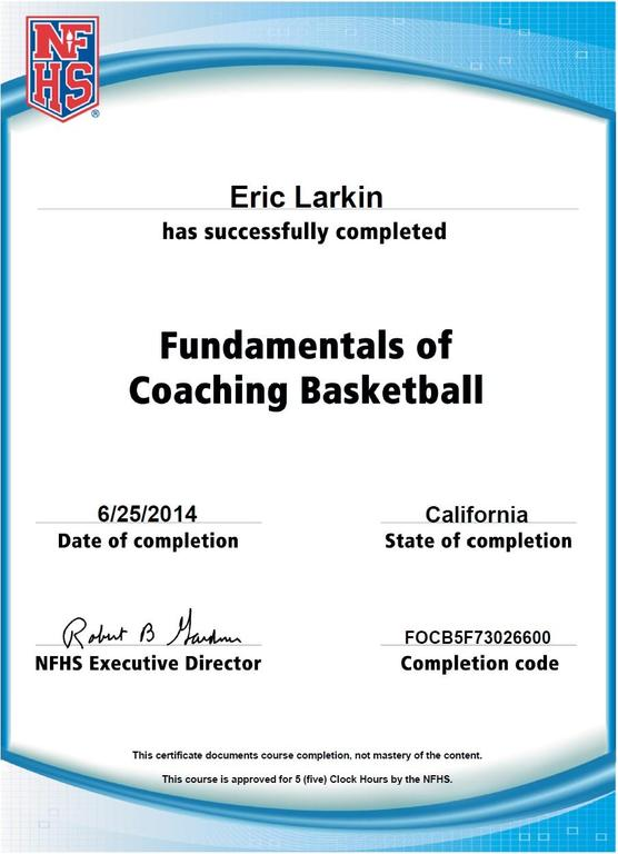 Basketball Coach In San Diego Ca Eric Larkin Coachup