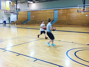 Emily Savino action photo