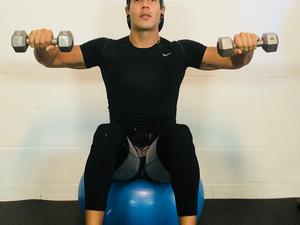 Julio C Acosta action photo