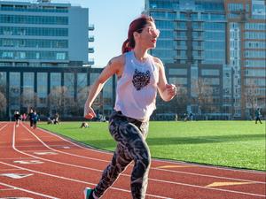 Marnie Kunz action photo