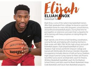 Elijah Knox action photo