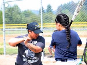 Tiffany Castro action photo