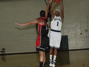 Marquis Barnes action photo