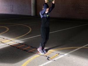 Jordan Moss action photo