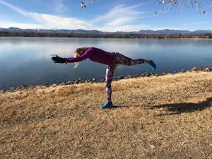 Michelle G. action photo