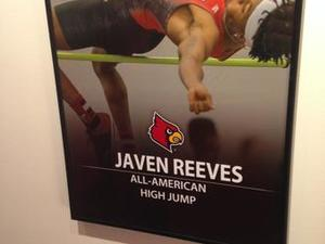 Javen Reeves action photo