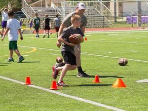 Tyler Fridley action photo