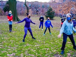 Lydia G. action photo