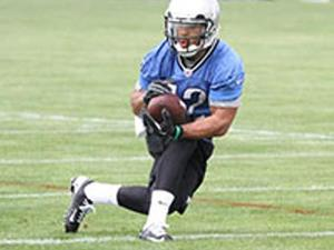 Troy Burrell action photo