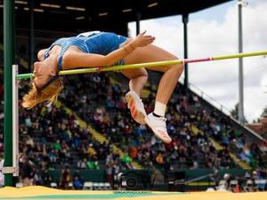 Kendall Gustafson action photo