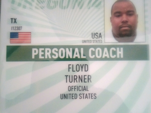 Floyd T. action photo