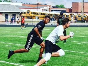 Eric Allen action photo