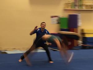 Deyan Yordanov action photo