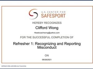 Clifford Wong action photo