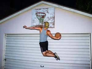 Joe G. action photo