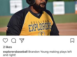 Brandon Young action photo