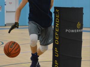Tony Pullins action photo