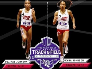 Kyra Johnson action photo