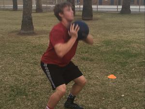 Brandon P. action photo
