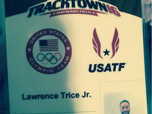 Lawrence Trice Jr. action photo