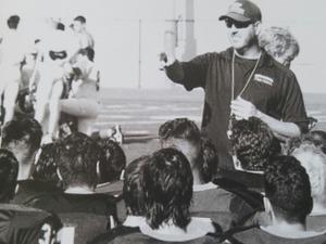 C.B. Richards action photo