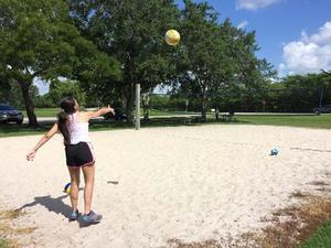 Sheila P. action photo