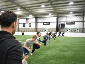 Justin Ochoa action photo