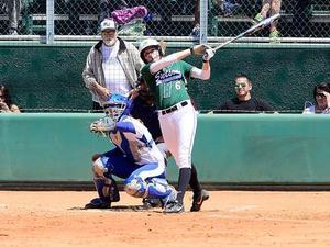 Courtney B. action photo