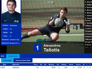 Alexandros Taliotis action photo