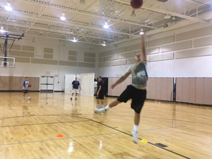 Jordan Stout action photo
