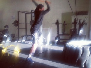Jordan A. action photo