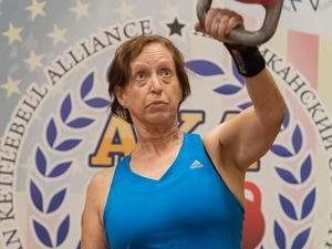 Valerie P. action photo